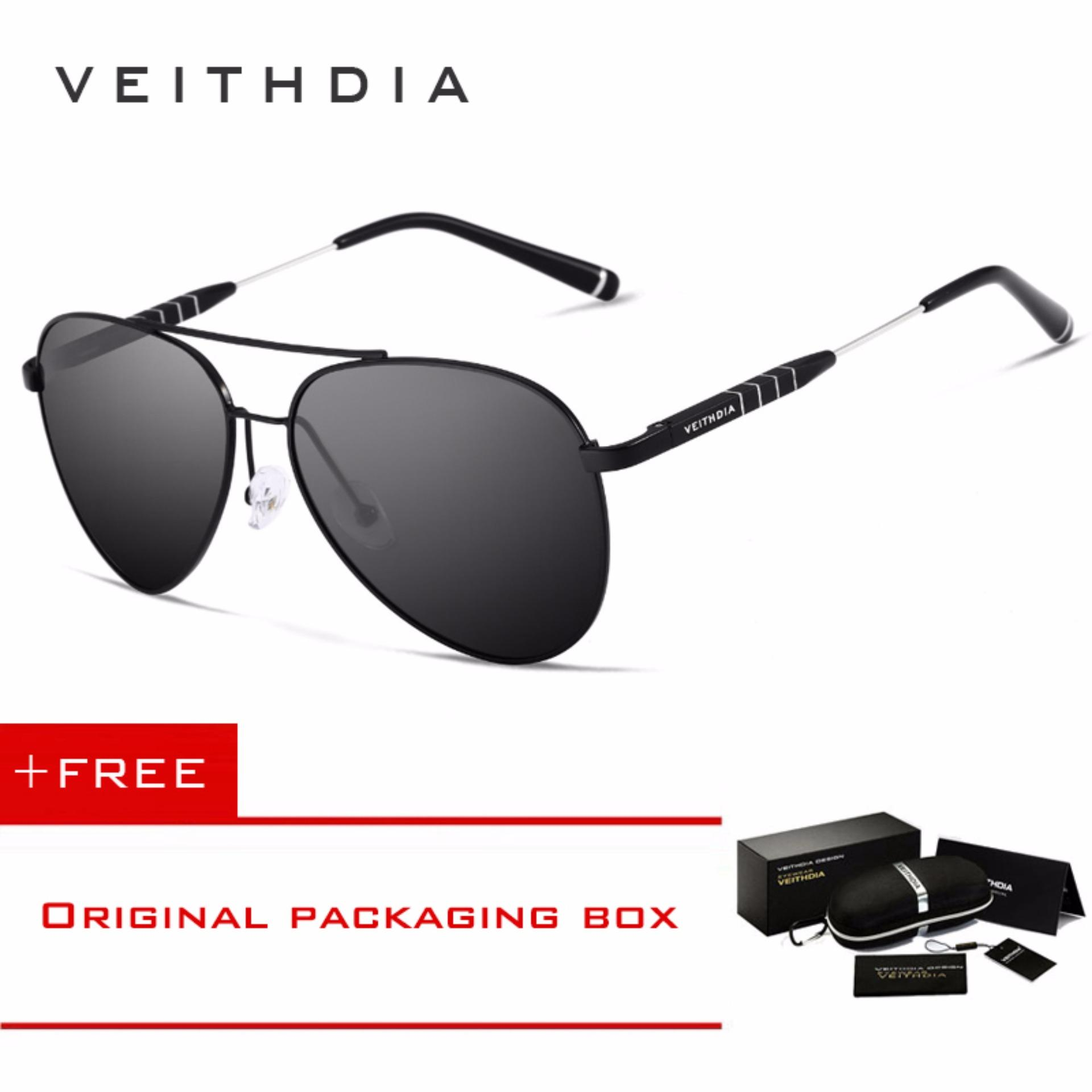 Jual Veithdia Fashion Merek Unisex Desain Aluminium Pria Berjemur Kacamata Terpolarisasi Cermin Pria Eyewear Kacamata Untuk Wanita China Pria 6698 Beli 1 Mendapatkan 1 Freebie Murah Tiongkok